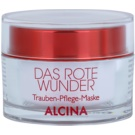 Alcina The Red Miracle Nourishing Face Mask with Grape Extract 100 ml