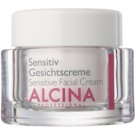 Alcina For Sensitive Skin łagodzący krem do twarzy (Sensitive Facial Cream) 50 ml