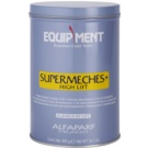 Alfaparf Milano Equipment zesvětlující pudr se sníženou prašností (Supermeches + High Lift Powder Bleach 9 Levels of Lift) 400 g