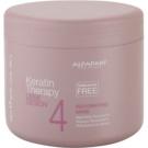 Alfaparf Milano Lisse Design Keratin Therapy máscara rehidratante para todos os tipos de cabelos  500 ml