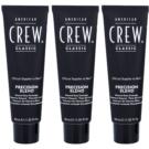 American Crew Classic tinte de pelo para cabello con canas tono 7-8 Light (Precision Blend) 3x40 ml