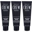 American Crew Classic barva na vlasy pro šedivé vlasy odstín 7-8 Light (Precision Blend) 3x40 ml