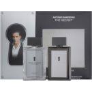 Antonio Banderas The Secret dárková sada I. toaletní voda 100 ml + voda po holení 100 ml