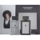 Antonio Banderas The Secret zestaw upominkowy I. woda toaletowa 100 ml + woda po goleniu 100 ml