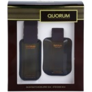 Antonio Puig Quorum Gift Set I. Eau De Toilette 100 ml + Aftershave Water 100 ml