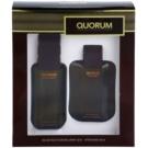 Antonio Puig Quorum Gift Set I. Eau De Toilette 100 ml + Aftershave Water 100 ml
