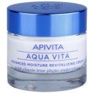 Apivita Aqua Vita intensywnie rewitalizujący krem do cery normalnej i suchej (with Chaste Tree Phyto-Endorphins) 50 ml