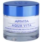Apivita Aqua Vita crema hidratanata si revitalizanta intensiva pentru piele normala si uscata (with Chaste Tree Phyto-Endorphins) 50 ml