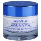 Apivita Aqua Vita intensive feuchtigkeitsspendende und revitalisierende Creme für fettige und Mischhaut (with Chaste Tree Phyto-Endorphins) 50 ml