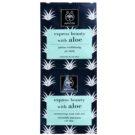 Apivita Express Beauty Aloe feuchtigkeitsspendende Gesichtsmaske  2 x 8 ml