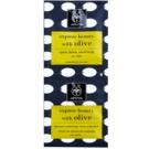 Apivita Express Beauty Olive exfoliante de limpieza profunda  para el rostro  2 x 8 ml