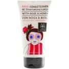 Apivita Kids Rose & Honey vlasový kondicionér pro děti (Dermatologically Tested) 150 ml