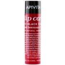 Apivita Lip Care Black Currant feuchtigkeitsspendendes Lippenbalsam  4,4 g