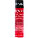Apivita Lip Care Pomegranate поживний бальзам для губ (Organic Beeswax & Olive Oil) 4,4 гр