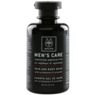 Apivita Men's Care Cardamom & Propolis sampon és tusfürdő gél 2 in 1 (Dermatologically Tested) 250 ml