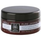 Apivita Pure Jasmine jemný peelingový krém (Parabens, Silicones, Mineral Oil Free) 200 ml