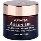 Apivita Queen Bee lehký krém proti stárnutí pleti (with Greek Royal Jelly in Liposomes) 50 ml