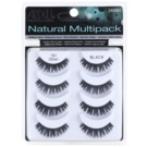 Ardell Natural Fake Lashes, Multipack Color 101 (Demi Black)