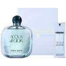 Armani Acqua di Gioia zestaw upominkowy XI. woda perfumowana 100 ml + woda perfumowana 20 ml