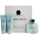Armani Acqua di Gioia set cadou XV. Eau de Parfum 50 ml + Gel de dus 75 ml + Lotiune de corp 75 ml