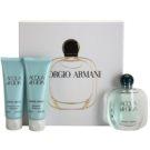 Armani Acqua di Gioia darilni set XV. parfumska voda 50 ml + gel za prhanje 75 ml + losjon za telo 75 ml