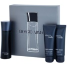 Armani Code coffret V. Eau de Toilette 75 ml + gel de duche 75 ml + bálsamo after shave 75 ml