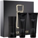 Armani Code coffret X. Eau de Toilette 50 ml + gel de duche 75 ml + bálsamo after shave 75 ml