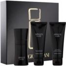 Armani Code подаръчен комплект X.  тоалетна вода 50 ml + душ гел 75 ml + балсам след бръснене 75 ml