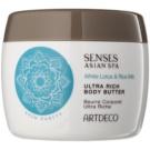 Artdeco Asian Spa Skin Purity gazdagon tápláló testápoló vaj White Lotus & Rice Milk 200 ml