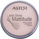 Astor Mattitude Anti Shine puder matujący odcień 001 Ivory  14 g