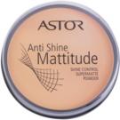 Astor Mattitude Anti Shine puder matujący odcień 003 Nude Beige  14 g