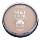 Astor Mattitude Anti Shine матираща пудра цвят 004 Sand (Supermatte Powder) 14 гр.