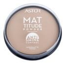 Astor Mattitude Anti Shine mattierendes Puder Farbton 004 Sand  14 g