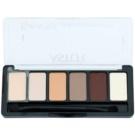 Astor Eye Artist paleta de sombras de ojos con aplicador tono 100 Cosy Nude 5,6 g