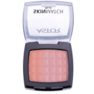 Astor SkinMatch blush trio culoare 003 Berry Brown (Blush) 8,25 g