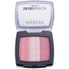 Astor SkinMatch blush trio culoare 001 Rosy Pink (Trio Blush) 8,25 g