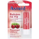 Astrid Lip Care Tinted Lip Balm Regenerative Effect Flavour Cherry (Cocoa Butter, Beeswax, Lanolin, Natural Oils, Vitamin E) 4,8 g