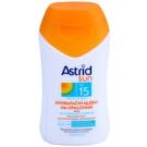 Astrid Sun lotiune hidratanta SPF 15 (Waterproof, Beta-carotene, UVA+UVB) 100 ml