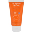 Avene Sun Sensitive emulsja do opalania SPF 20 (Very Water-Resistant, Hypoallergenic, Non-Comedogenic) 50 ml