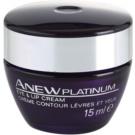 Avon Anew Platinum creme para contornos dos olhos e lábios  15 ml