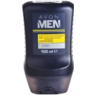 Avon Men Energizing hydratisierendes After Shave Balsam 2in1  100 ml