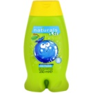 Avon Naturals Kids espuma de baño y gel de ducha 2 en 1 para niños (Bursting Berry Body Wash and Bubble Bath) 250 ml