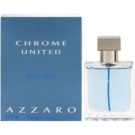Azzaro Chrome United eau de toilette para hombre 30 ml
