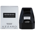 Azzaro Silver Black bálsamo after shave para hombre 75 ml