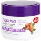 Babaria Almendras telový krém s mandľovým olejom (Body Cream For Dry Skins) 250 ml