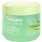 Babaria Aloe Vera gel hidratante para corpo (Body Gel Silky Smoothness) 400 ml
