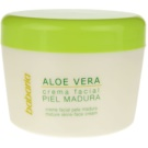 Babaria Aloe Vera krem do twarzy do skóry dojrzałej (Natural Mature Skins-Face Cream with Aloe Vera) 125 ml