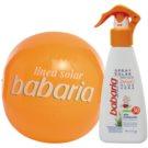 Babaria Sun Infantil opalovací sprej pro děti SPF 30 plážový míč zdarma (Baby Sun Spray) 200 ml