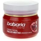 Babaria Twenty feuchtigkeitsspendende Gesichtscreme für Mischhaut (Face Cream for Combination Skins with Pomegranate extract) 50 ml