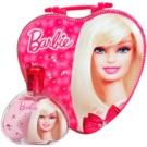 Barbie Barbie darilni set I. toaletna voda 100 ml + škatla za malico